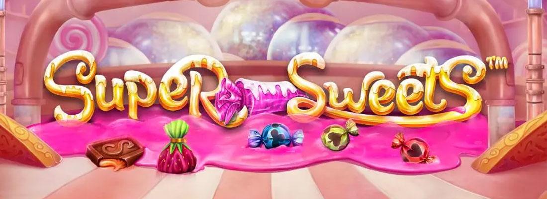 Super Sweets Slot Banner