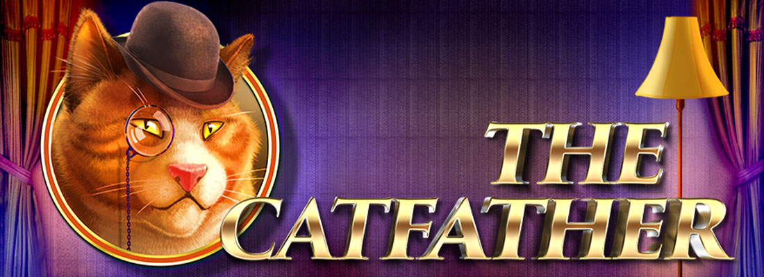 The Catfather slot banner