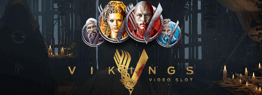 Vikings Slot Banner