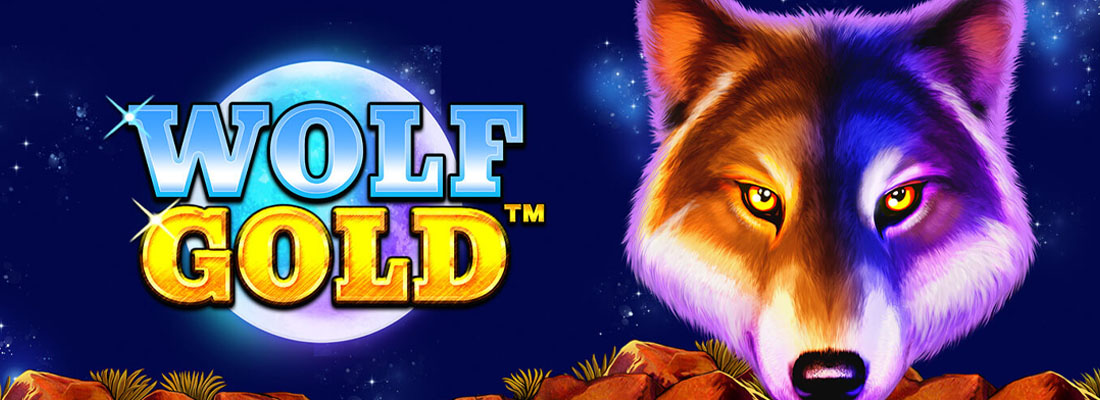 Wolf Gold Slot Banner