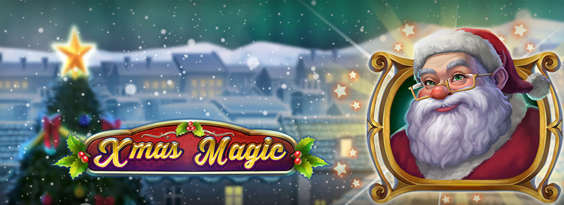 Xmas Magic Slot Banner