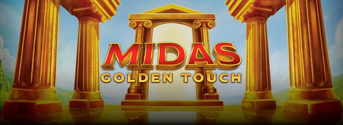 Midas Golden Touch Slot Banner