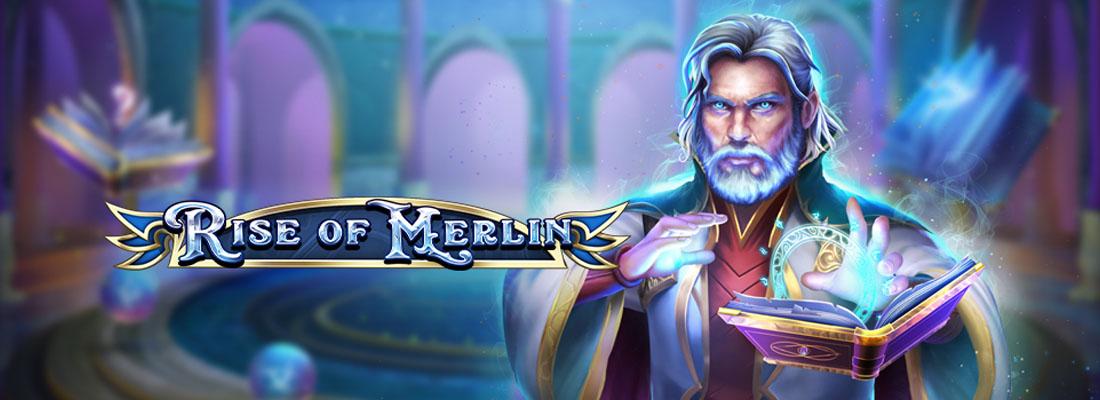 rise of merlin slot banner