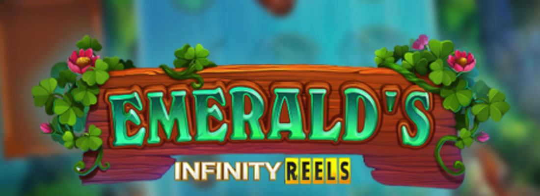 Emerald's Infinity Reels Slot Banner