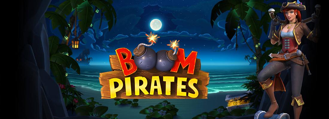Boom Pirates Wonderways Slot Banner