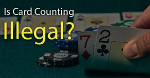 Card counting illegal