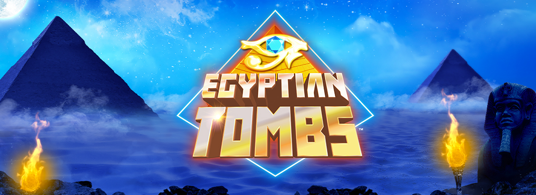 Egyptian Tombs Slot Banner