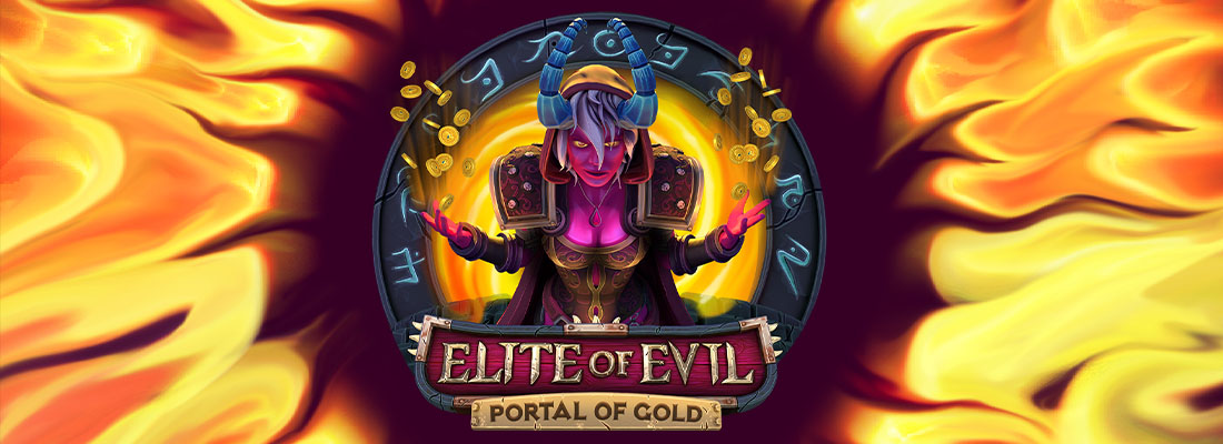 Elite of Evil portal of gold slot banner
