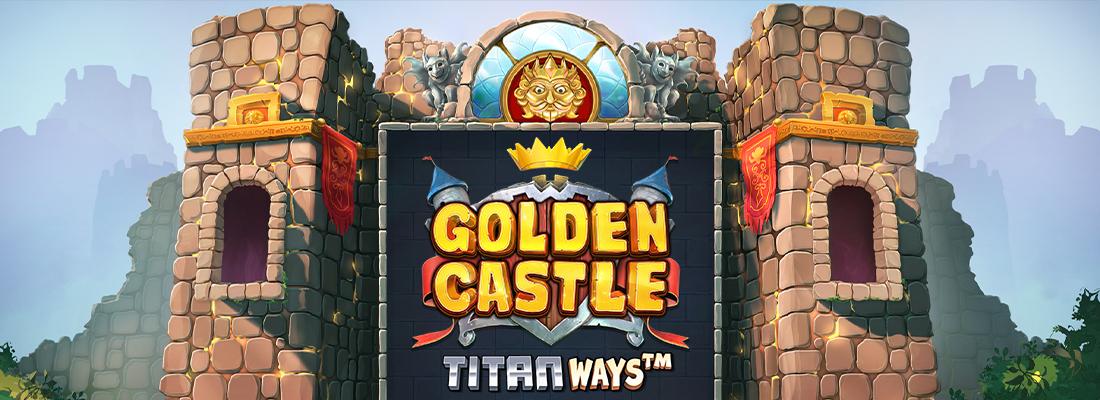 Golden Castle TitanWays Slot Banner