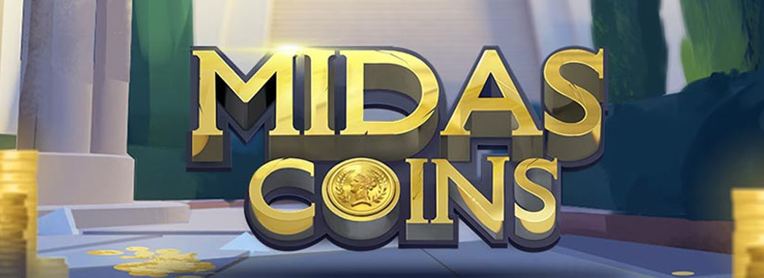 Midas Coins Slot Banner