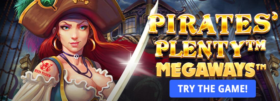 Pirate's Plenty Megaways Slot banner