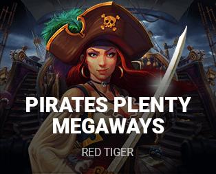 Pirates Plenty Megaways slot free spins
