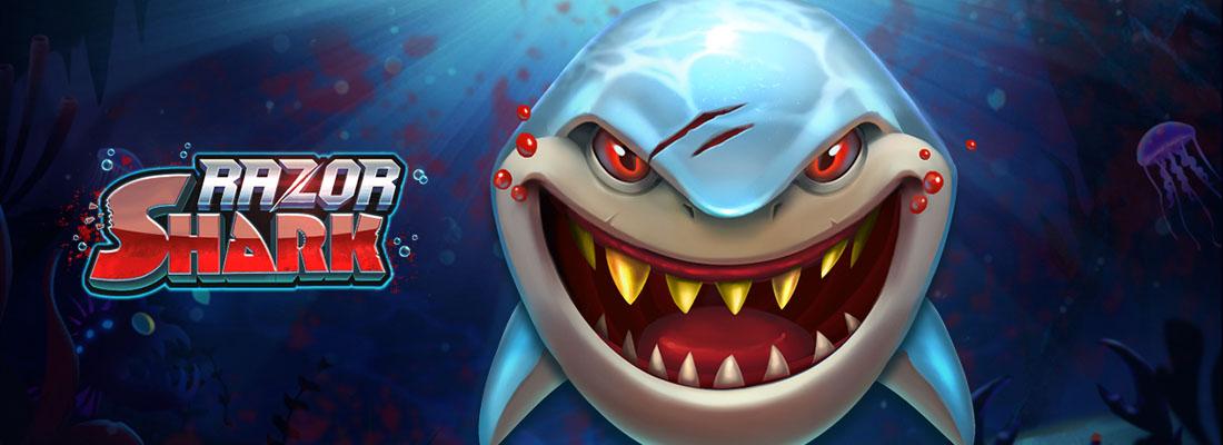 Razor Shark Slot Banner