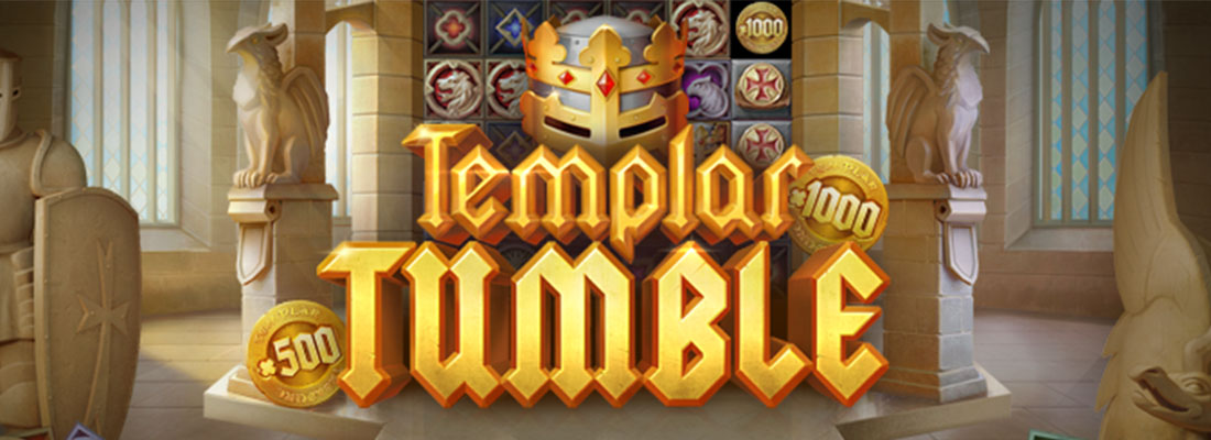 Templar Tumble slot banner