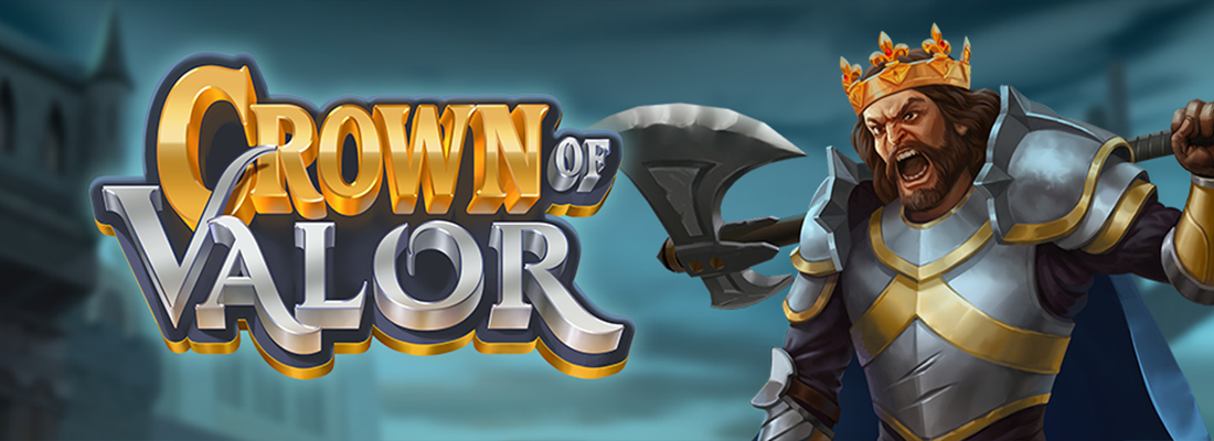 Crown of Valor Slot Banner