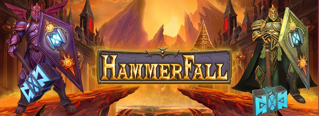 HammerFall Slot Banner