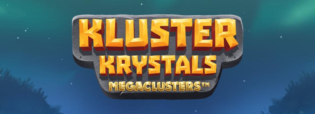 Kluster Krystals Megaclusters Slot Banner
