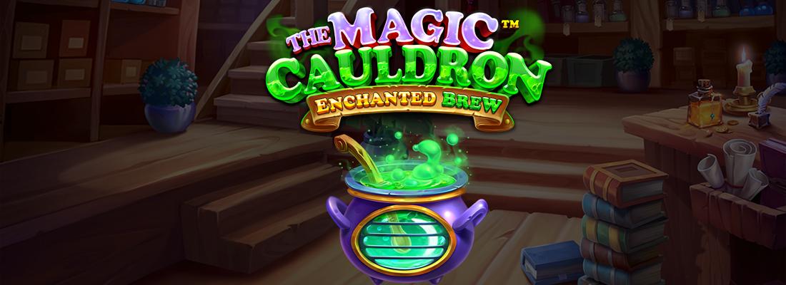 Magic Cauldron enchanted brew slot banner