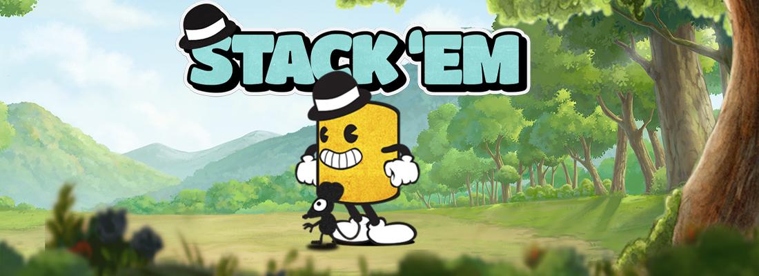 Stack'Em Slot Banner