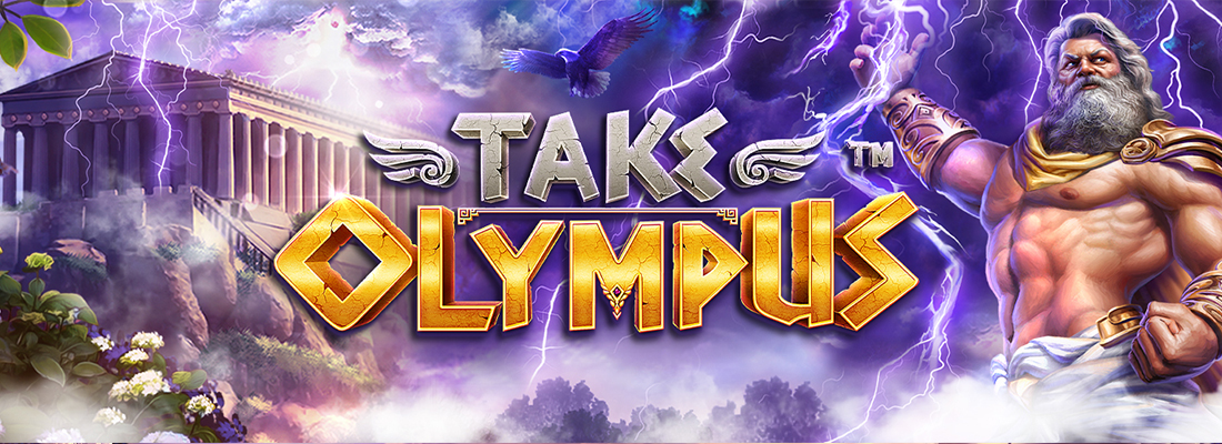 Take Olympus Slot Banner