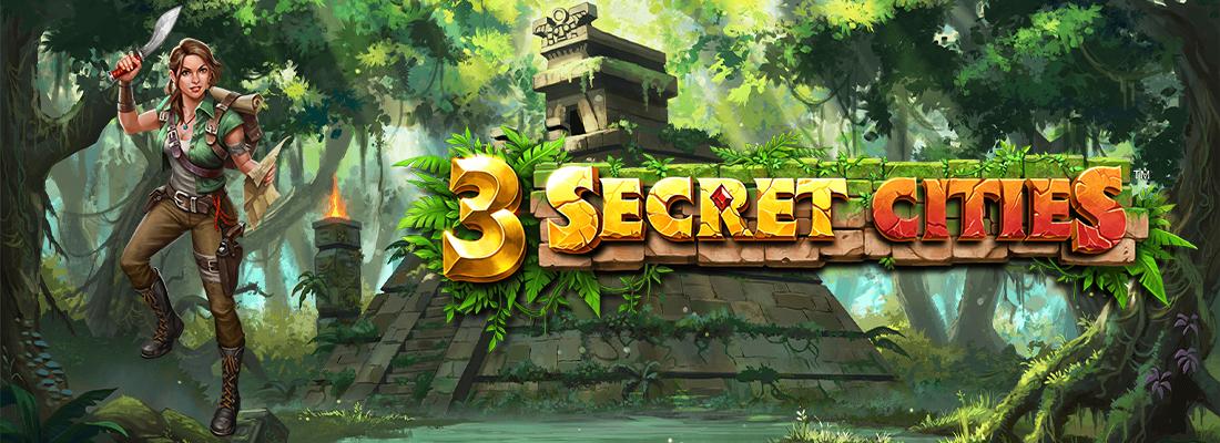 3 Secret Cities Slot Banner