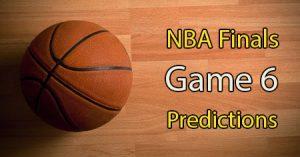NBA Finals Bucks vs Suns Game 6 Predictions