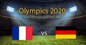 Olympics 2020 Men's Handball France vs Germany Predictions