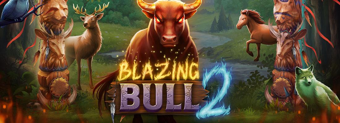 Blazing Bull 2 Slot Banner