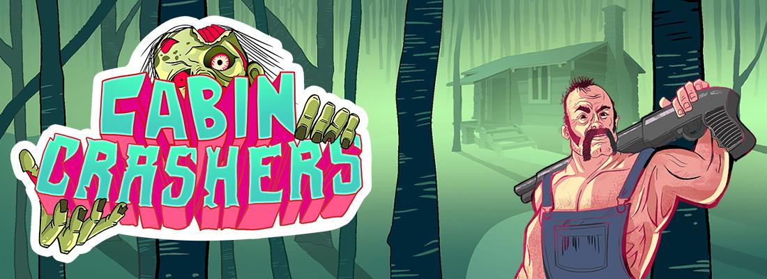 Cabin Crashers Slot Banner