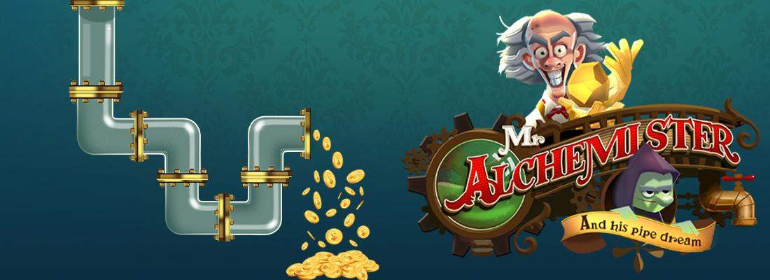 Mr Alchemister slot banner