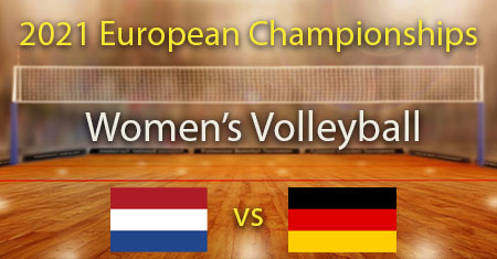 Netherlands vs Germany 2021 Women's European Volleyball Championship Predictions and betting tips