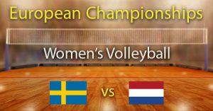 Sweden vs Netherlands 2021 Women's European Volleyball Championship Quarter finals Predictions