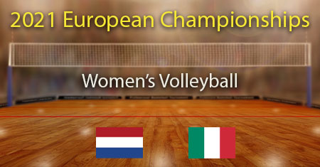 2021 Women's Volleyball European Championship Semi Final Netherlands vs Italy Predictions and Betting Tips