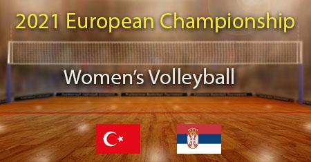 2021 Women's Volleyball European Championship Semi FinalTurkey vs Serbia Predictions and Betting Tips