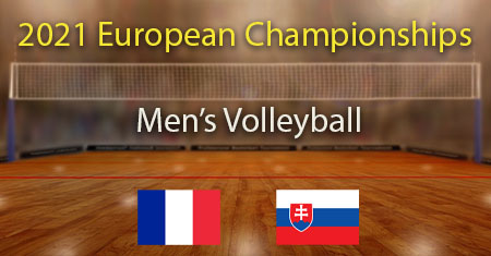 France vs Slovakia 2021 Men's Volleyball European Championship Predictions and Betting Tips